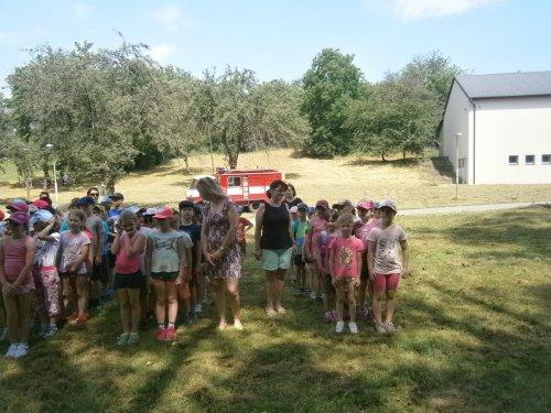 Dětský den s hasiči
