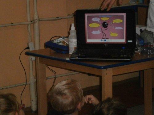 Beseda o první pomoci s lékařkou Mudr.Michaelou Poláškovou ve školní družině