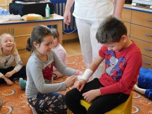 Beseda o první pomoci s Mudr. Michaelou Poláškovou